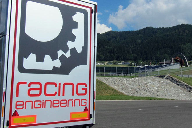 Racing Engineering Logo Instalaciones
