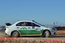 Juan Pablo Castro vence en el Rallye de Paracuellos por K.O.