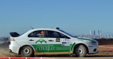 Rallye Paracuellos Castro Mitsubishi Evo X