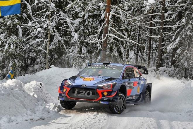Rallye Suecia WRC Shakedown 2018