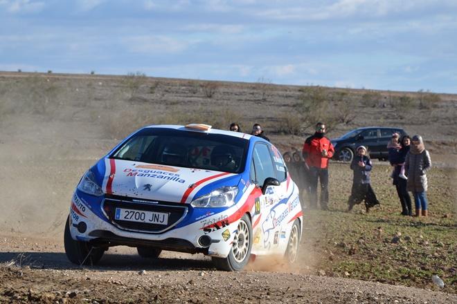 Rallye paracuellos manzanilla peugeot 208 r2