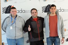 Tres zaragozanos seleccionados por FADA para disputar el Campeonato de Aragón de Slalom