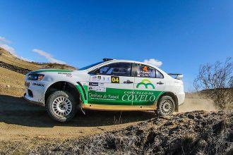 Juan Pablo Castro con neumáticos DMACK en el Campeonato de España de Rallyes de Tierra