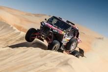 Peña asciende a la segunda posición en las dunas de Abu Dhabi tras dos etapas