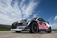 Nuevo Audi S1 EKS RX quattro para el mundial de Rallycross