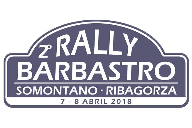 Placa Rallye Barbastro 2018