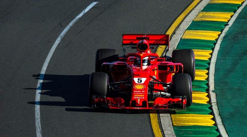 f1 australia Vettel Ferrari