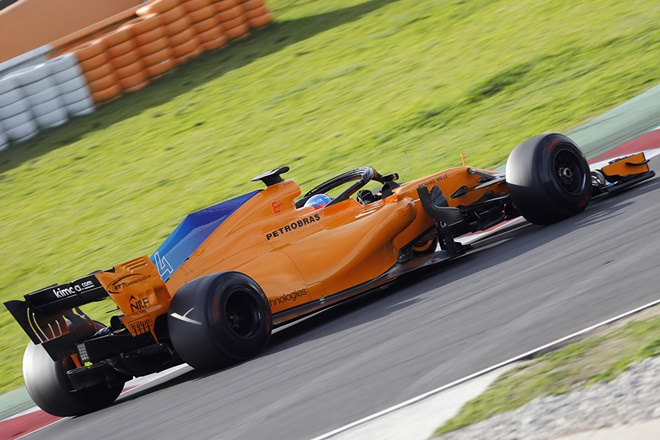f1 mclaren alonso test cataluna