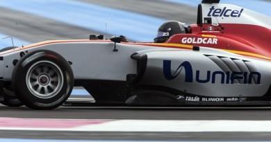 gp3 campos racing test