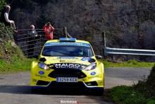 Óscar Palacio comienza la temporada ganando el Rallye Villa de Tineo