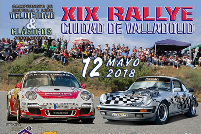 Placa recorte Rallye Valladolid 2018
