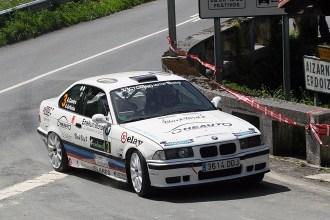 Aingeru Castro y Alaitz Urkiola ganadores del XIX Rallysprint de Azpeitia