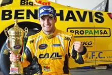 ▬ Salvador Tineo en la NASCAR Whelen EUROPEA 2018 en Valencia