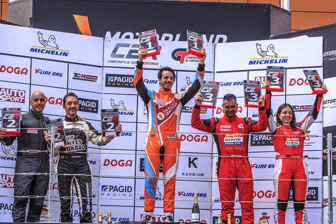 CEM Motorland Vinyes-Fontes podio