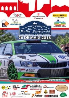 Cartel Rallye Emporda 2018