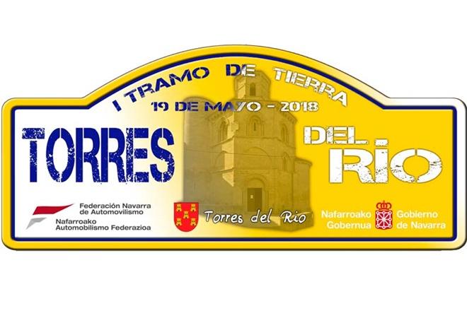Placa Rallye Torres del Rio 2018