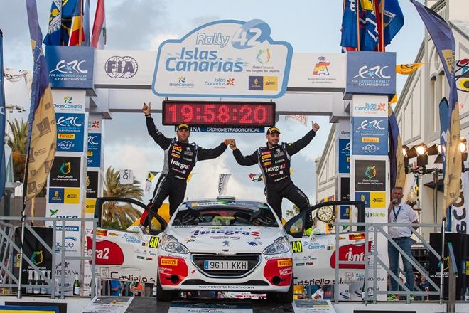 Roberto Blach Rallye Islas Canarias BKR2 Junior