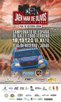 Cartel Rallye TT Mar de Olivos 2018