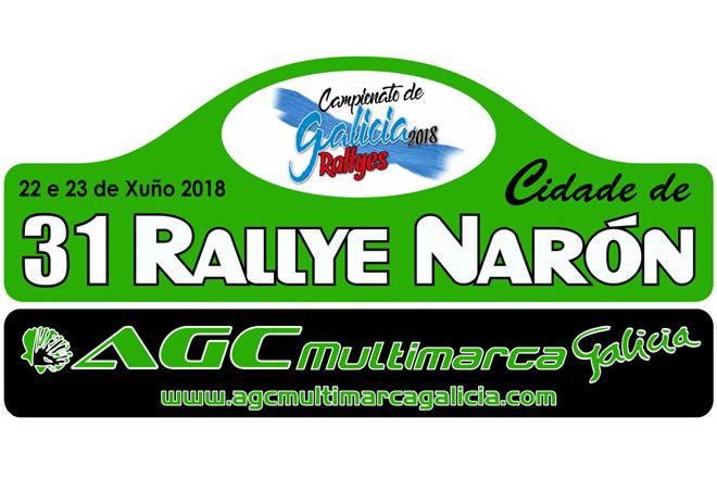 placa rallye de nalon 2018