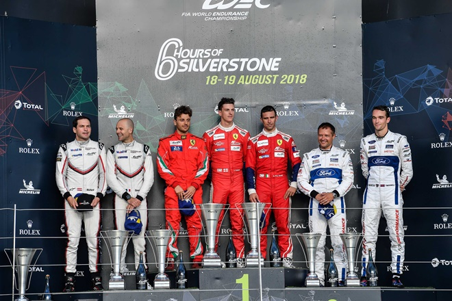 wec silverstone gt-pro podio 2018