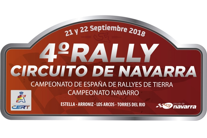 placa rallye cto navarra 2018
