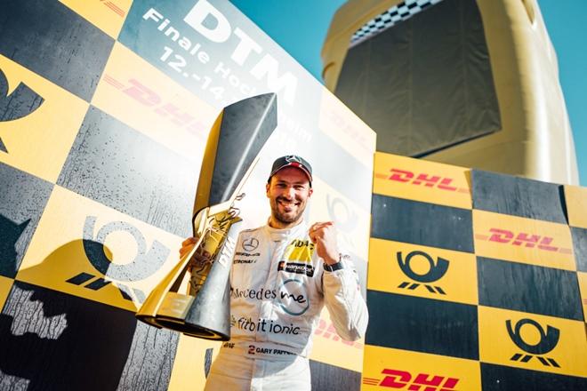 Gary Paffett podio DTM hockenheim
