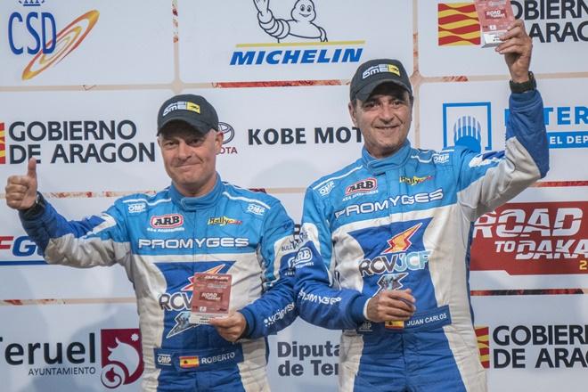 CERT T1N MONTERO Promyges Rally Team carranza-Fernandez