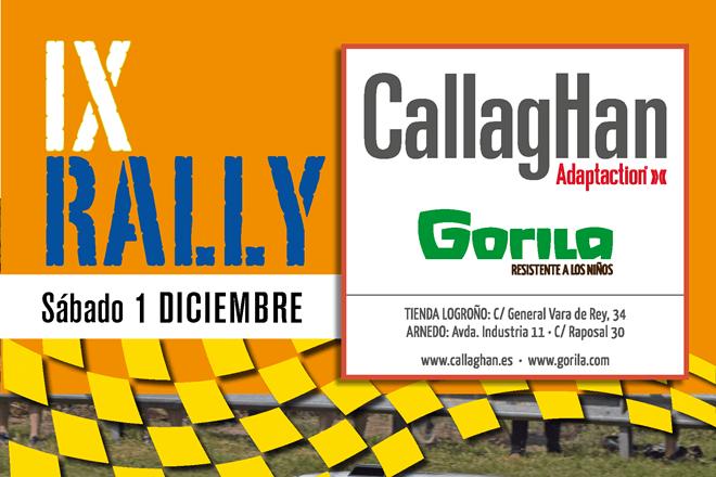 Rallye Callaghan Gorila 2018 cartel