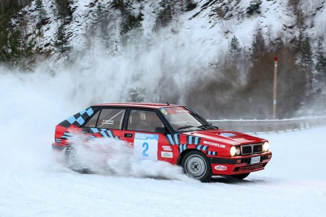 andorra winter rallye nieve lancia delta 2011