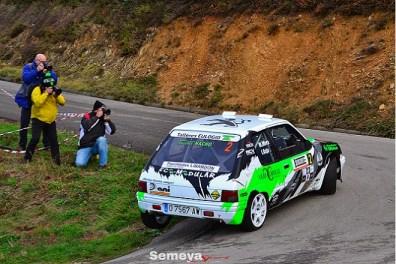 Mora finalizaba tercero y lograba el sub campeonato de Asturias de Rallyes