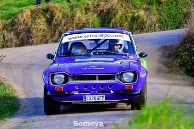 03 Francisco Lopez y Miguel Peña teceros clasificados Rallye Solo Escort 2019