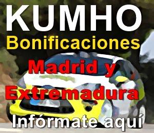 Bonificaciones Kumho 2019