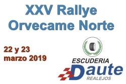 Gran lista de inscritos para empezar la temporada en el RallyeOrvecame Norte