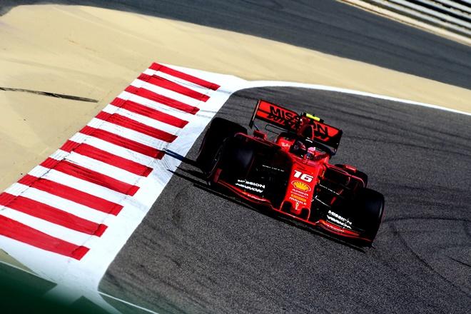 f1 bahrein leclerc pole 2019