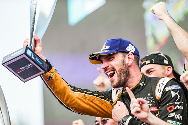 vergne sanya formula e 2019 podio trofeo