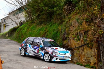 03 Pablo Fernandez se alzaba a la tecera plaza Rallye Villa de Tineo 2019
