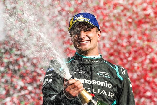 Formula E roma Mitch Evans jaguar