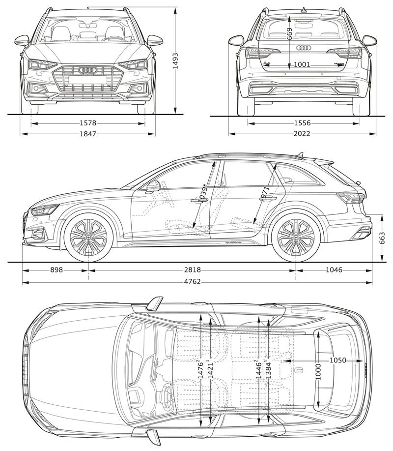 Audi A4 allroad quattro COTAS