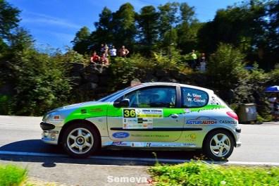 05 Alberto Díaz se imponía en el Desafio Eco Modular Rallysprint Carbayín 2019