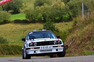 02 Sergio Alonso se alzaba hasta la segunda posición dentro del Campeonato de Asturias de Rallyes en el 56 Rallye Princesa de Asturias 2019