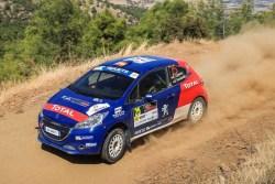 Rallye Chipre llarena 208 R2