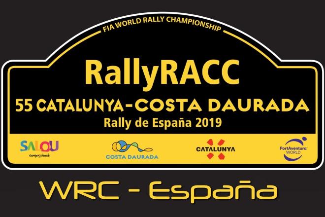 rallye España-Cataluña 2019 placa