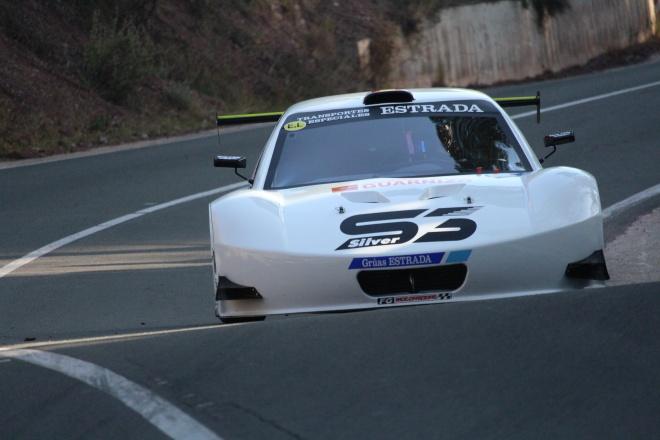 subida la santa estrada silver car