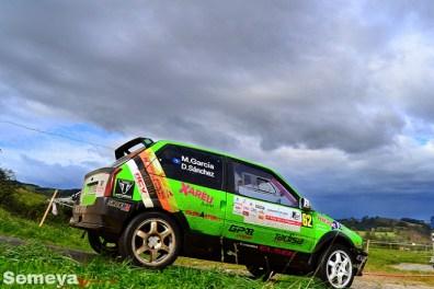 07 Mikael García ganaba la Beteta Cup con el pequeño AX en el Rallye La Felguera 2019