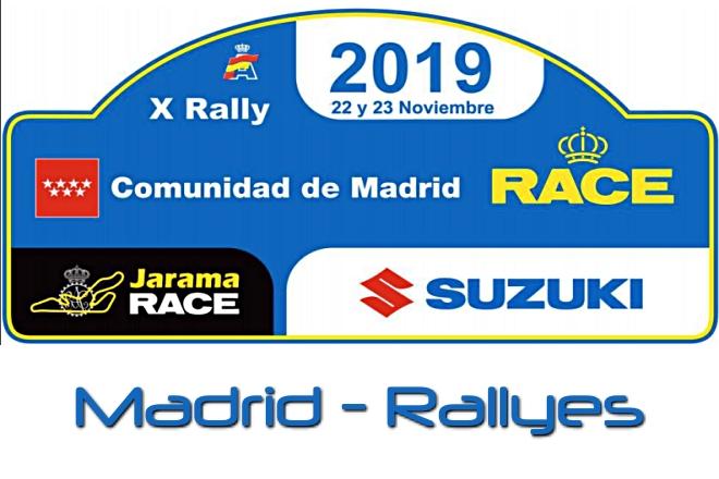rallye madrid 2019 placa