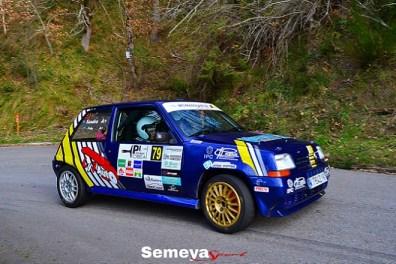07 Ivan Molleda ganaba la Homologastur Turbo Cup XXXI Rallye Cangas de Narcea