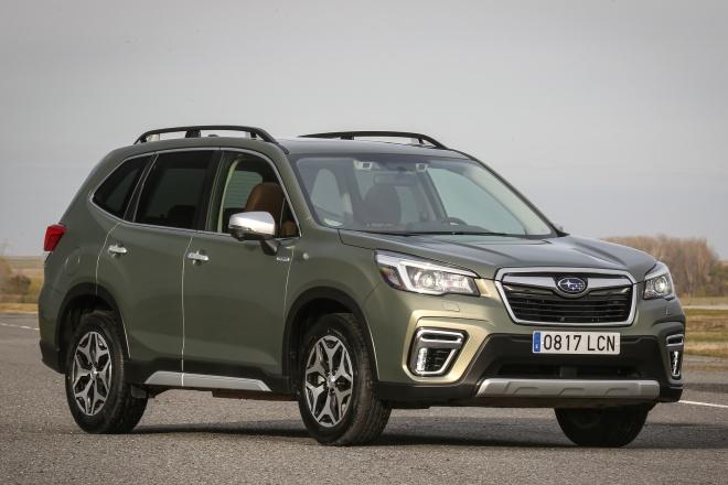 Subaru Forester Eco-Hybrid 2019 ficha