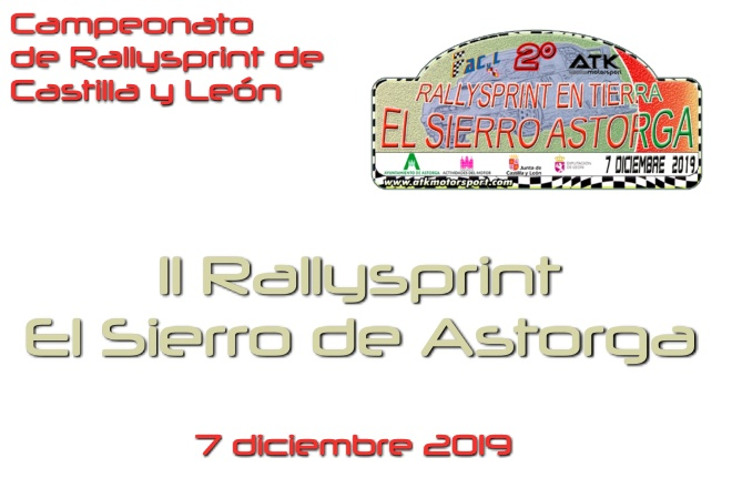 rallysprint tierra sierro astorga 2019 cartela