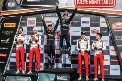 neuville podio rallye Monte carlo 2020