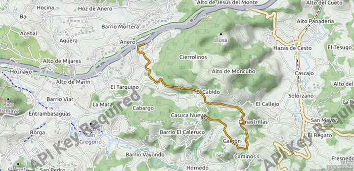 rs hoznayo mapa tramo 2020